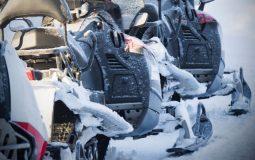 high mileage snowmobile