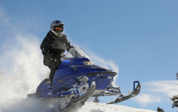How to Jump a Snowmobile
