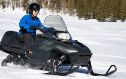 how to ride a snowmobile