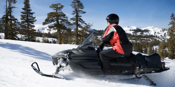 ride a snowmobile