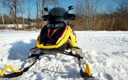 snowmobile dimension