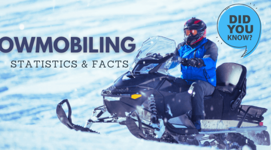 73 Snowmobiling Statistics and Facts for 2021