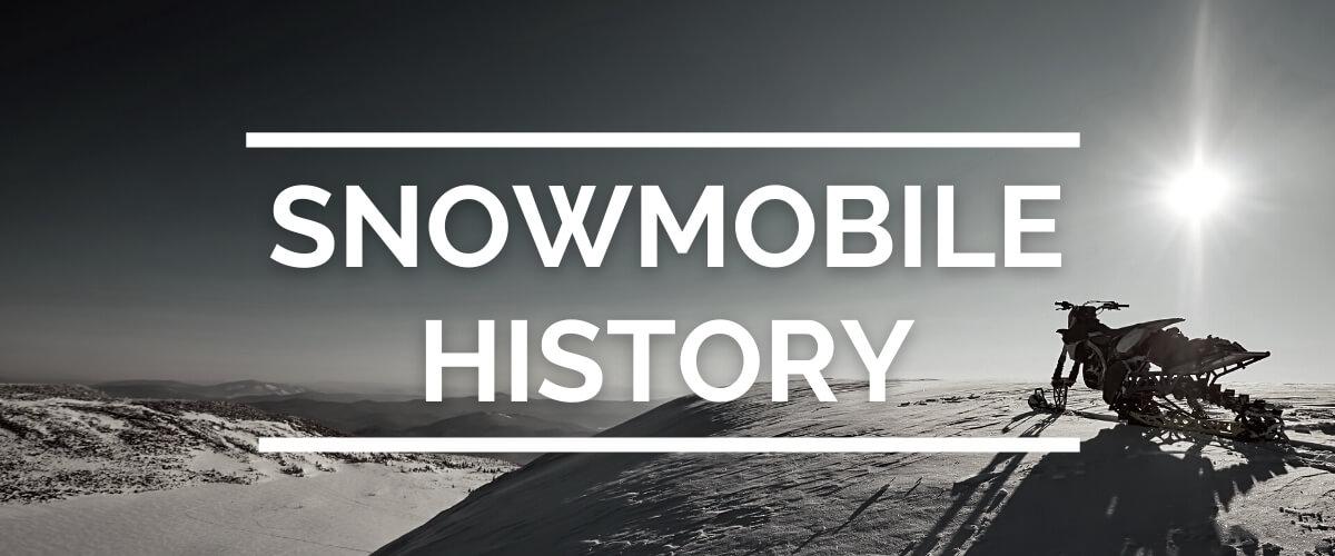 snowmobile history